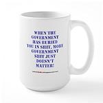 Government buries Large Mug