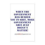 Government buries Mini Poster Print