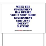 Government buries Yard Sign