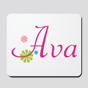 Ava Flowers Mousepad