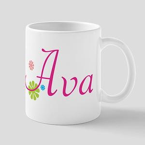 Ava Flowers Mug