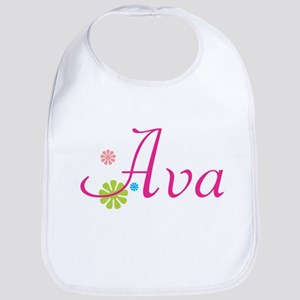 Ava Flowers Bib