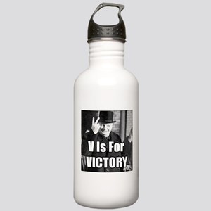 Sir Winston Churchill V Is For Victory Meme Water