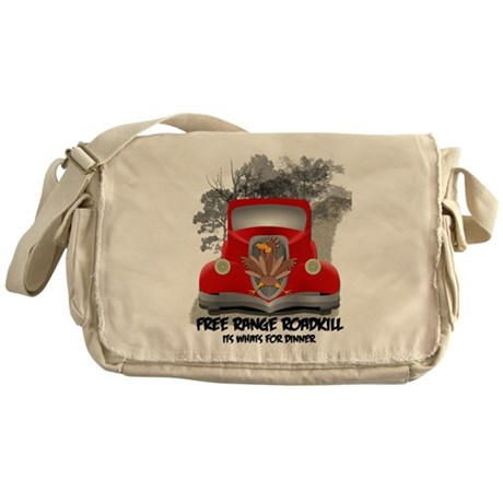 Free Range Roadkill Messenger Bag