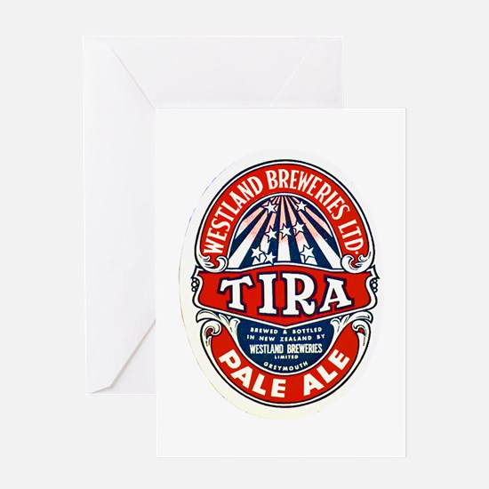 New Zealand Beer Label 7 Greeting Card