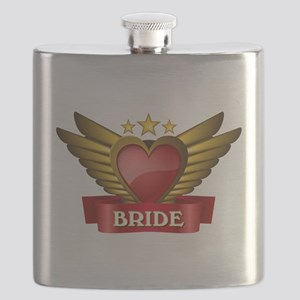 GOLD WING BRIDE Flask