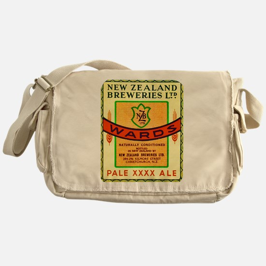 New Zealand Beer Label 3 Messenger Bag