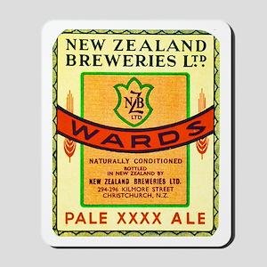 New Zealand Beer Label 3 Mousepad