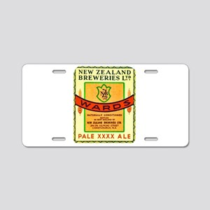New Zealand Beer Label 3 Aluminum License Plate