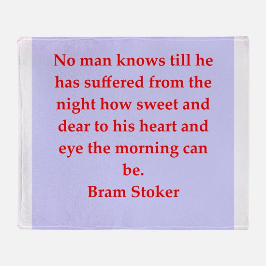 stoker4.png Throw Blanket