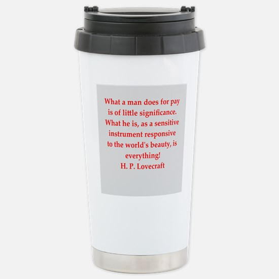 lovecraft13.png Stainless Steel Travel Mug