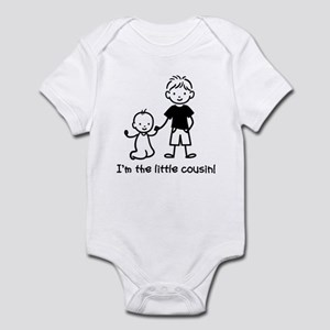 Little Cousin - Stick Figures Infant Bodysuit