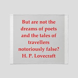 lovecraft2 Throw Blanket