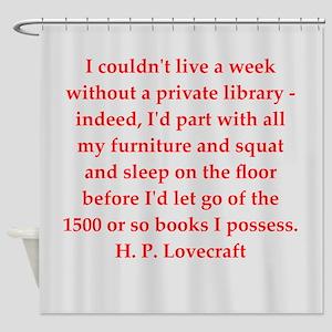 lovecraft5 Shower Curtain