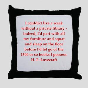 lovecraft5 Throw Pillow