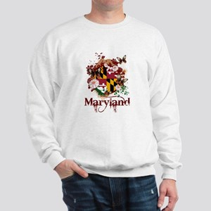 Butterflies Maryland Sweatshirt