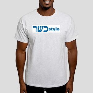 KOSHER STYLE Ash Grey T-Shirt