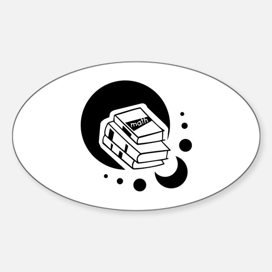 Back To School Sticker (Oval)