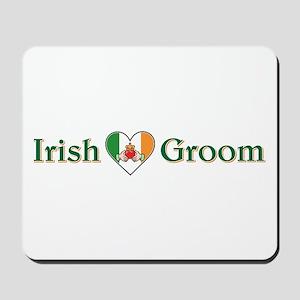 IRISH GROOM Mousepad