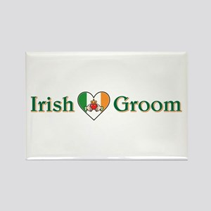 IRISH GROOM Rectangle Magnet