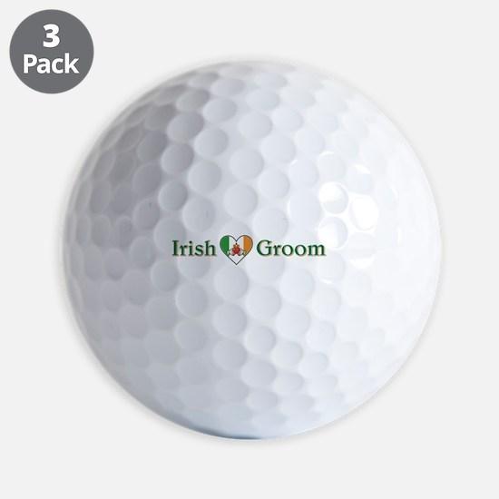 IRISH GROOM Golf Ball