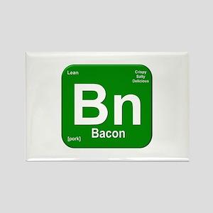 Bn (Bacon) Element Rectangle Magnet