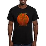 Hieroglyph Tutankhamun Men's Fitted T-Shirt (dark)
