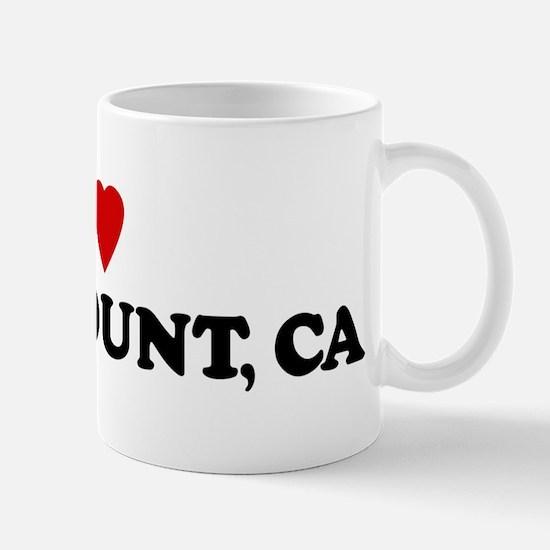 I Love PARAMOUNT Mug