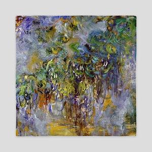 Claude Monet Wisteria Queen Duvet