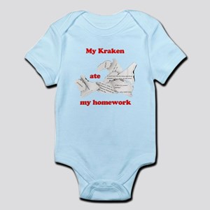 My Kraken ate my homework Infant Bodysuit