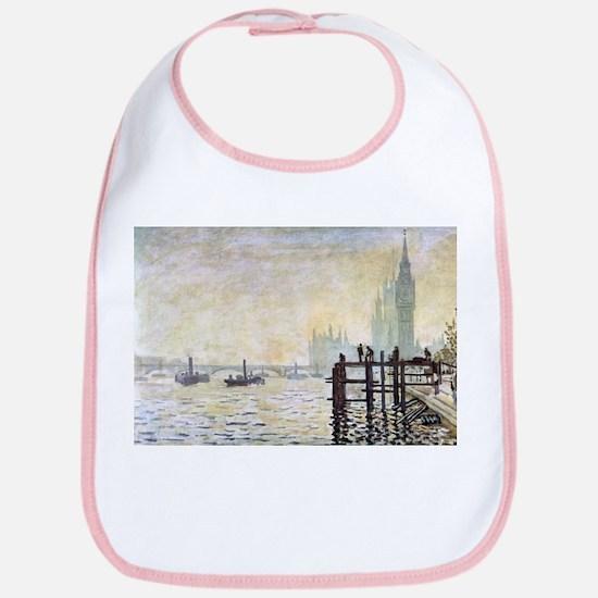 Claude Monet Westminster Bridge Bib