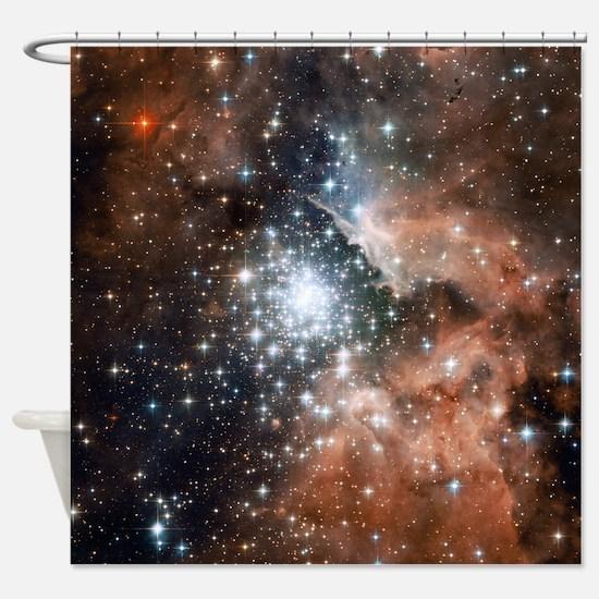 NGC3603 Nebula Shower Curtain