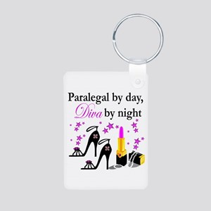 PARALEGAL Aluminum Photo Keychain