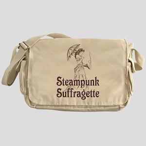 Steampunk Suffragette Messenger Bag