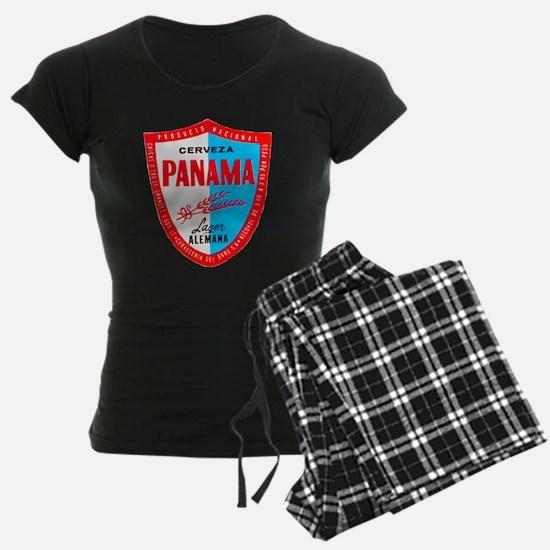 Panama Beer Label 1 Pajamas