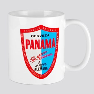 Panama Beer Label 1 Mug