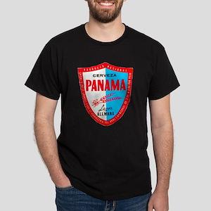 Panama Beer Label 1 Dark T-Shirt