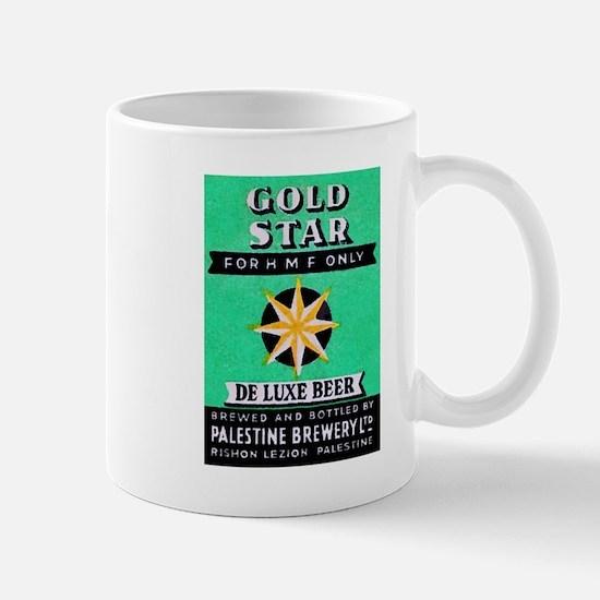 Palestine Beer Label 2 Mug