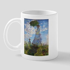 Monet Woman with a Parasol Mug