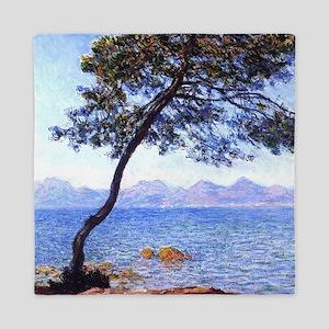 Claude Monet Antibes Queen Duvet