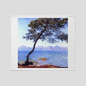 Claude Monet Antibes Throw Blanket