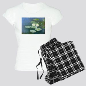 Claude Monet Water Lilies Women's Light Pajamas