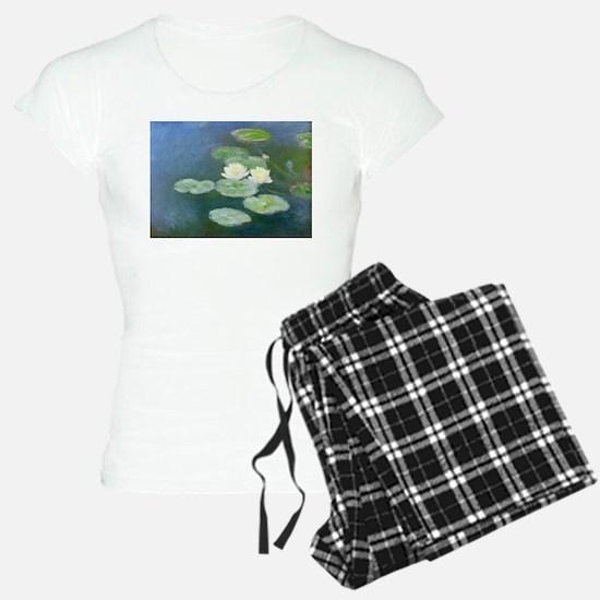 Claude Monet Water Lilies Pajamas