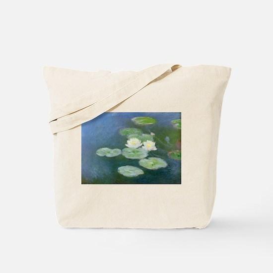 Claude Monet Water Lilies Tote Bag