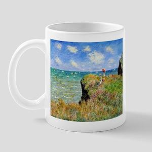 Claude Monet Clifftop Walk Mug