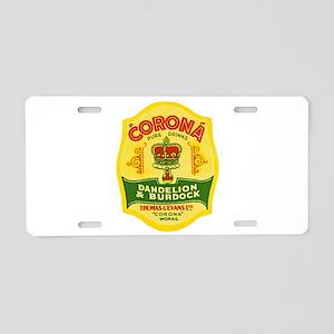 Wales Beer Label 1 Aluminum License Plate