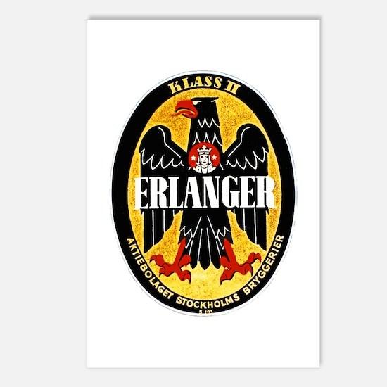 Sweden Beer Label 1 Postcards (Package of 8)