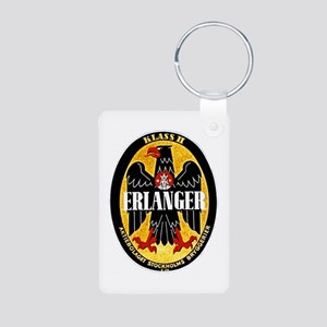 Sweden Beer Label 1 Aluminum Photo Keychain