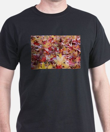 Fire leaves, T-Shirt