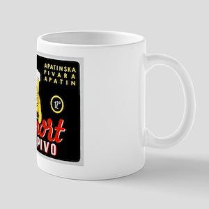 Serbia Beer Label 1 Mug
